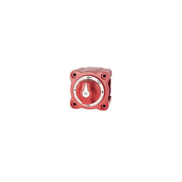 Coupe circuit, selecteur et coupleur de batteries 4 positions 2 entrées -  300A Comptoir Nautique