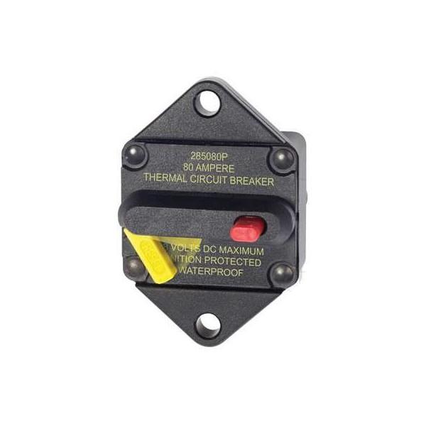 Disjoncteur thermique encastrable SERIES 285 - 80A Comptoir Nautique
