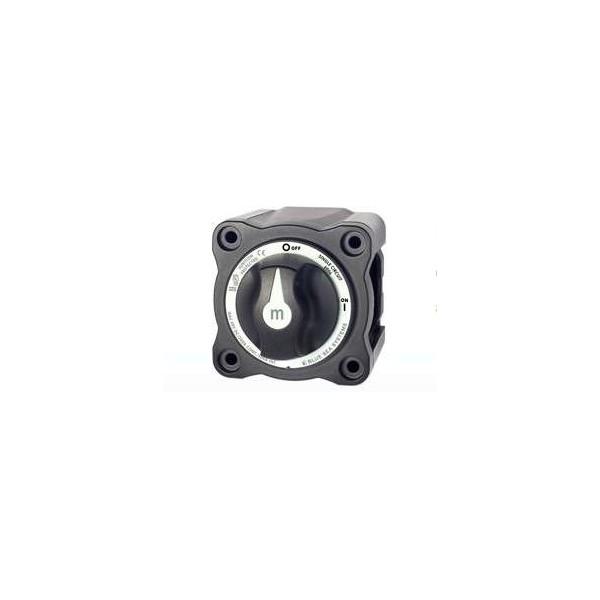 Coupe circuit à bouton (300amp) Noir Comptoir Nautique