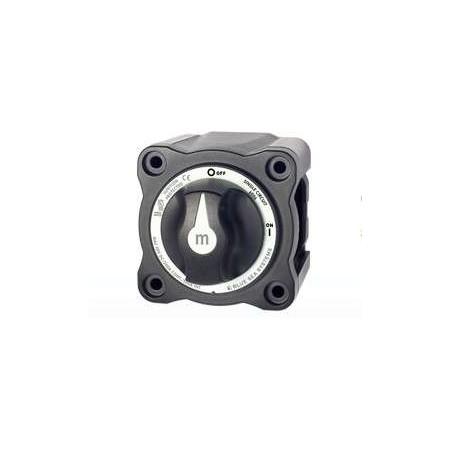 Coupe circuit à bouton (300amp) Noir