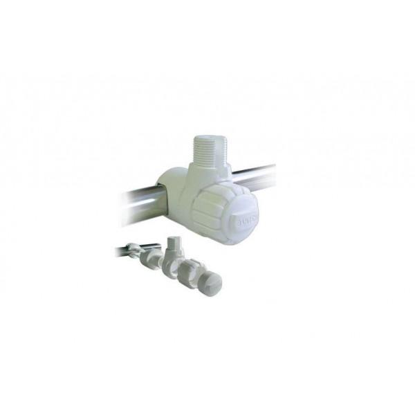 Embase orientable plastique pour balcon 1 pouce Comptoir Nautique