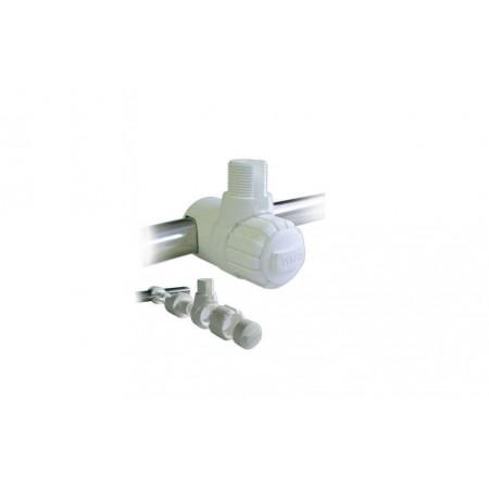Embase orientable plastique pour balcon 1 pouce