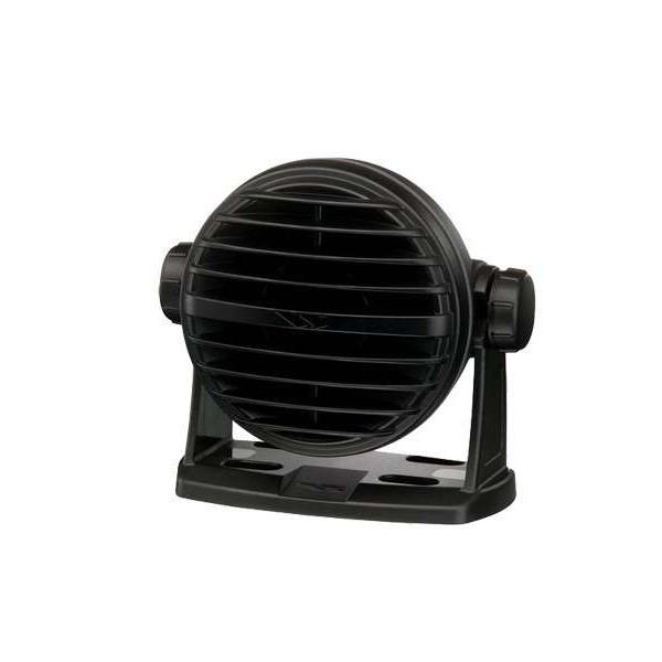 Haut parleur externe standard horizon noir compatible gamme GX Comptoir Nautique