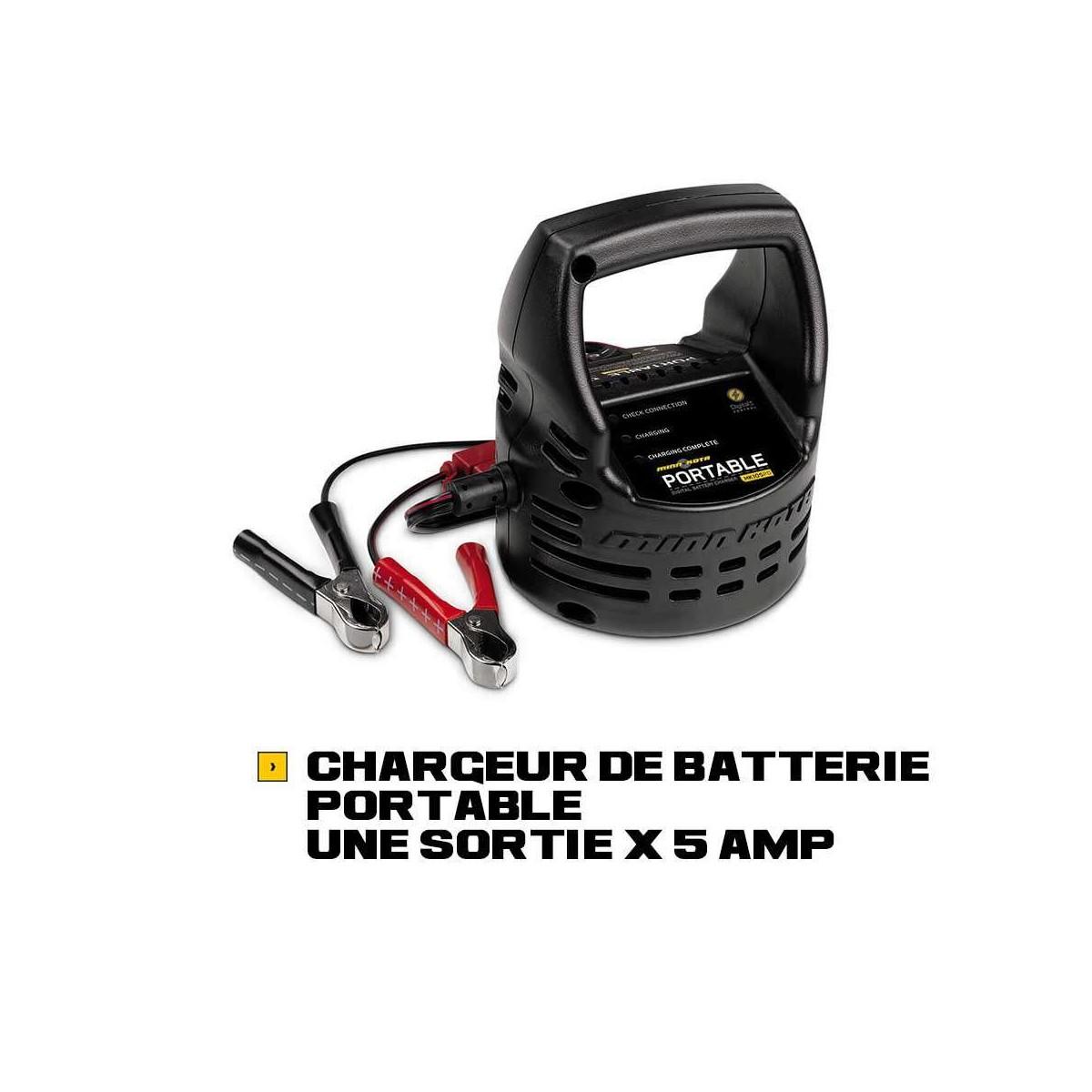 Chargeurs de batteries portables