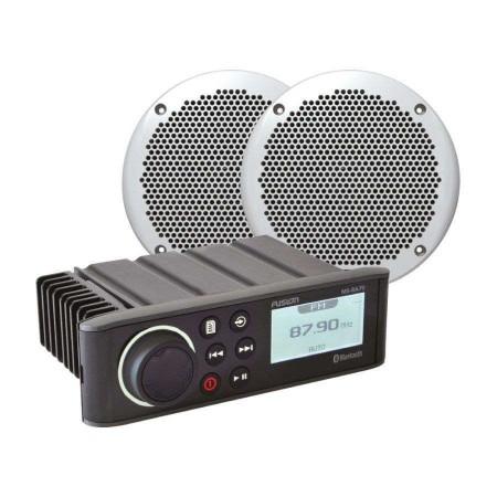 Pack Autoradio RA70 + HP 80W