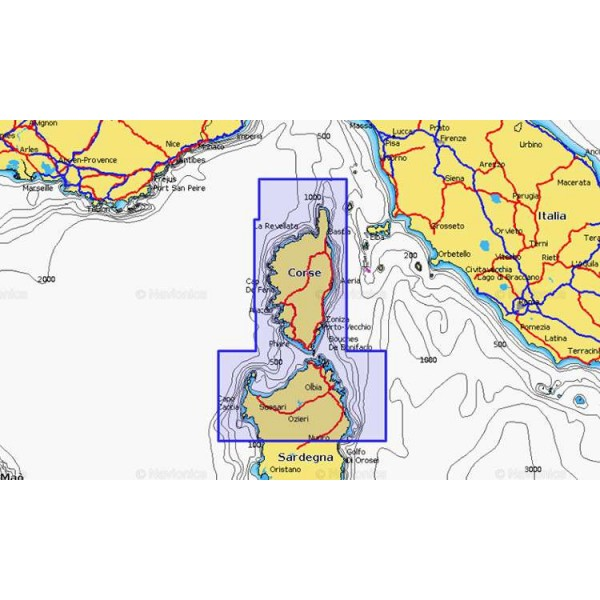 Cartographie Navionics + Small 536 Comptoir Nautique