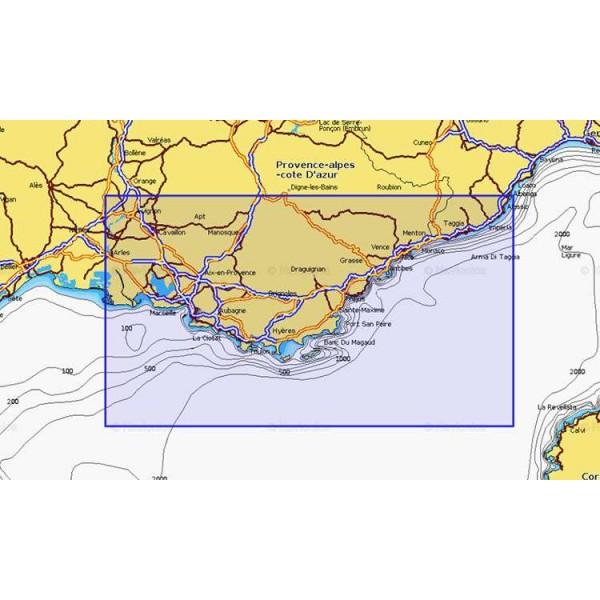 Cartographie Navionics + Small 540 Comptoir Nautique