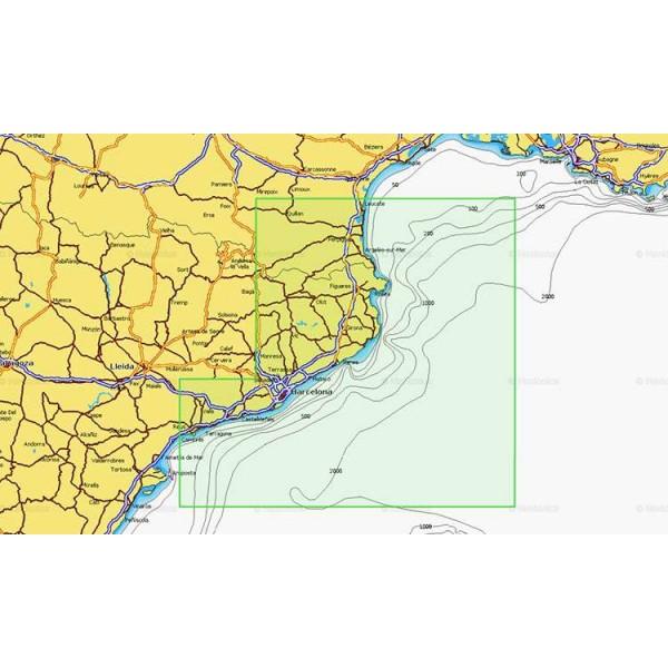 Cartographie Navionics + Small 542 Comptoir Nautique
