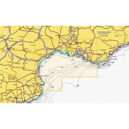 Cartographie Navionics + Small 541