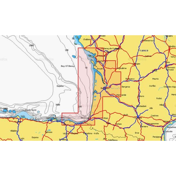 Cartographie Navionics + Small 552 Comptoir Nautique