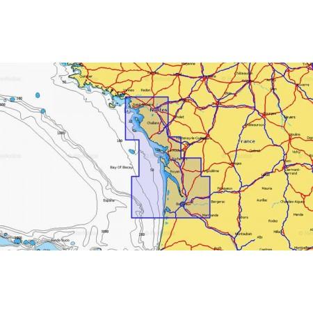 Cartographie Navionics + Small 553
