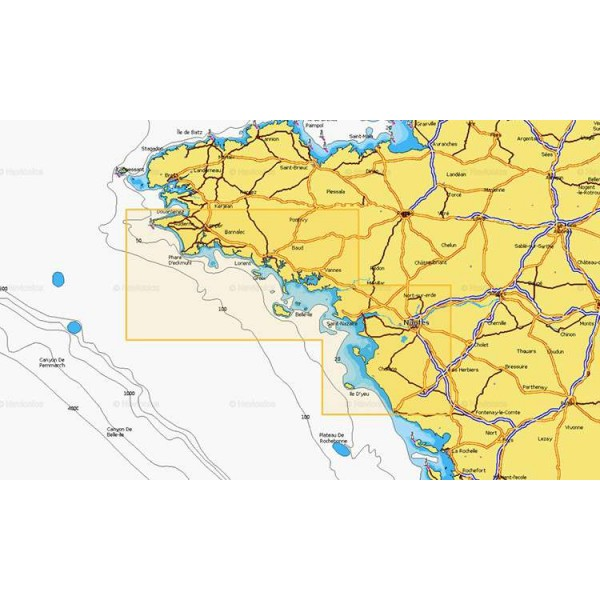 Cartographie Navionics + Small 554 Comptoir Nautique