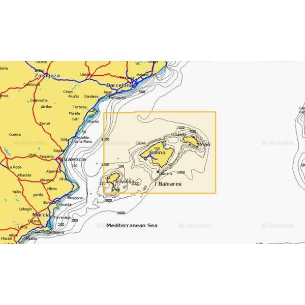 Cartographie Navionics + Small 356 Comptoir Nautique