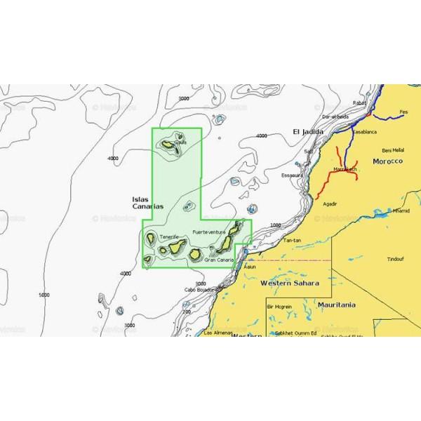Cartographie Navionics + Small 551 Comptoir Nautique