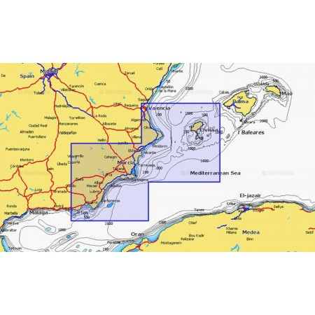 Cartographie Navionics + Small 544