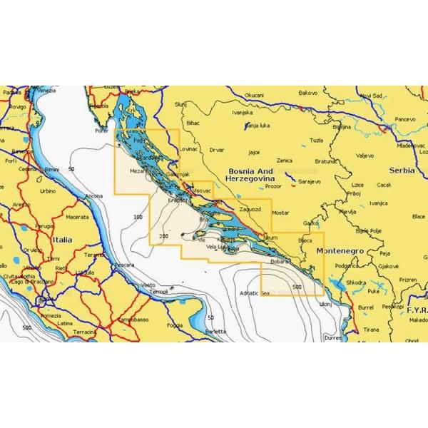 Cartographie Navionics + Small 525 Comptoir Nautique