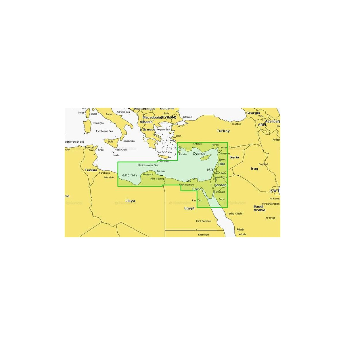 Cartographie Platinum+ XL 5P269