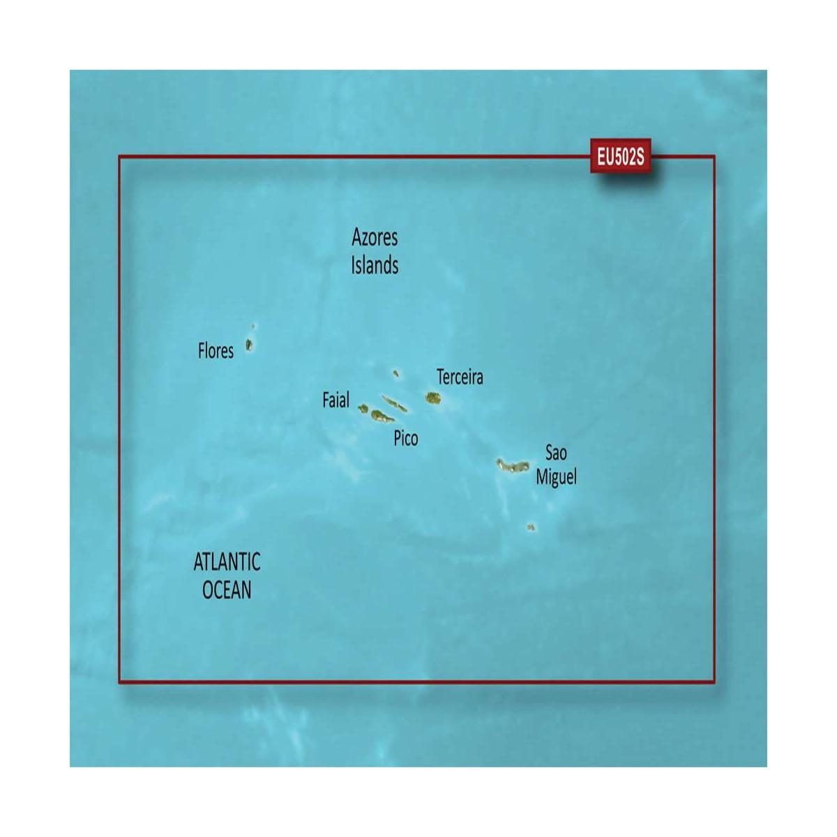 CARTE BLUECHART G3 VISION SMALL VEU502S