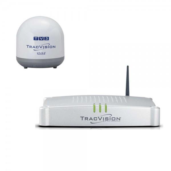 Antenne TV Satellite TV3 / TV3D Tracvision Comptoir Nautique