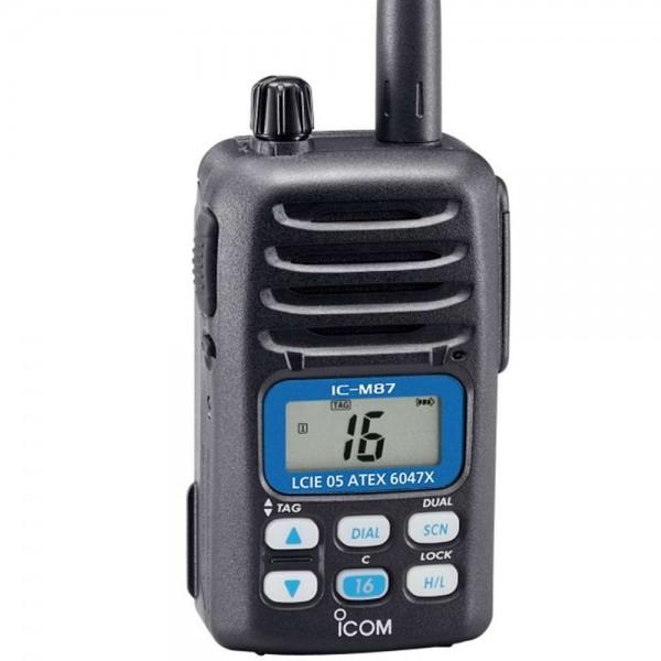 VHF IC-M87 ATEX Comptoir Nautique
