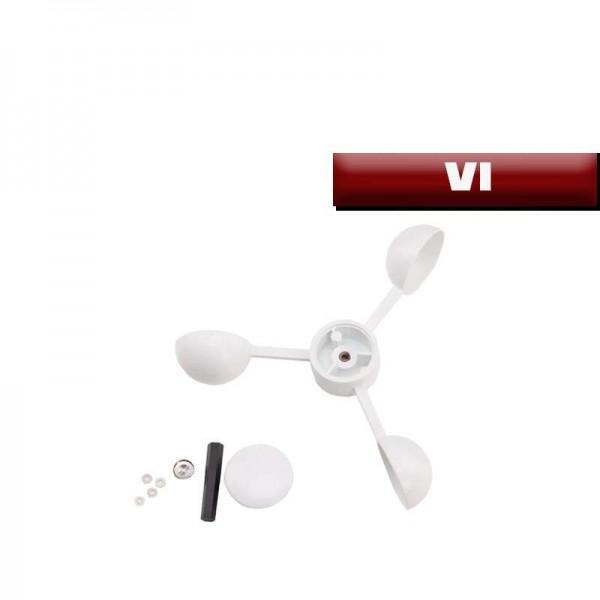 Godets Blancs/Pâles pour girouette V1 et V2 Comptoir Nautique