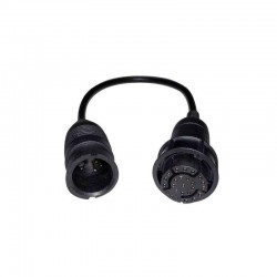 Câble adaptateur (25 à 8 broches)