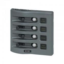 Tableaux électriques étanches à disjoncteurs
