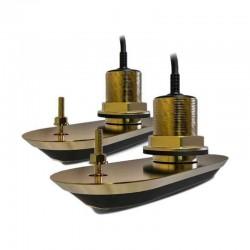 Double sonde RealVision 3D CHIRP Traversante Bronze