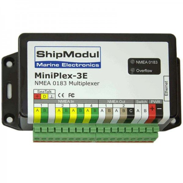 MiniPlex 3E - NMEA0183 / Ethernet Comptoir Nautique