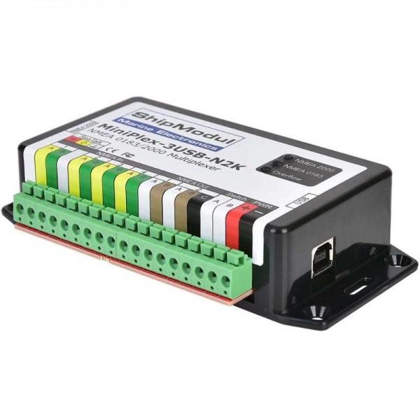 MiniPlex 3USB-N2K - NMEA2000 / NMEA0183 / USB Comptoir Nautique