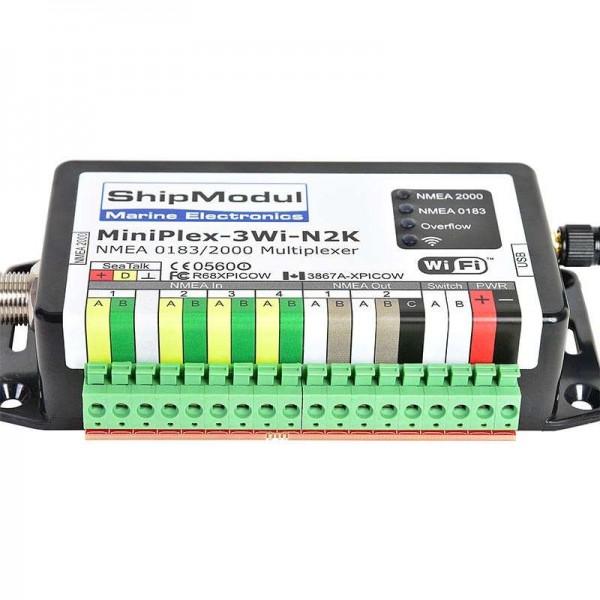 MiniPlex 3Wi-N2K - NMEA2000 / NMEA0183 / WIFI / USB Comptoir Nautique
