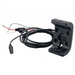 Support robuste GPS Montana spécial 2 roues avec câble d'alimentation / audio