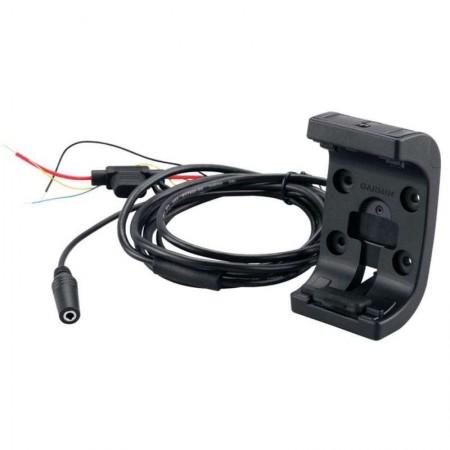 Support moto avec câble d'alimentation/audio