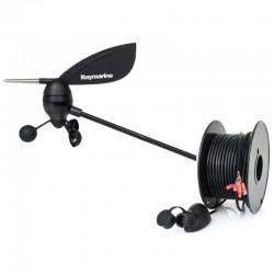 Capteur girouette-anémomètre avec 30 m de câble