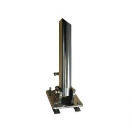 Kit de fixation tube inox pour éolienne D400