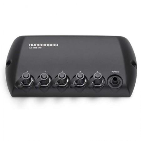 Hub 5 ports pour mise réseau des combinés Humminbird