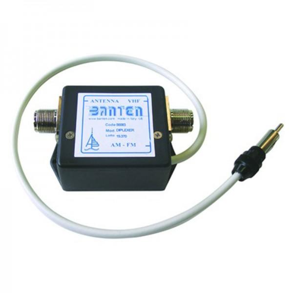 Duplexeur pour VHF et AM/FM Comptoir Nautique