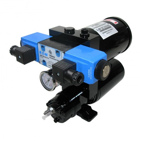 Pompes hydraulique à électrovanne et débit réglable
