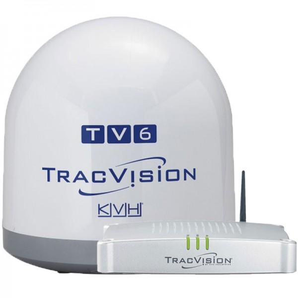 Antenne TV Satellite TV6GPS TracVision Comptoir Nautique