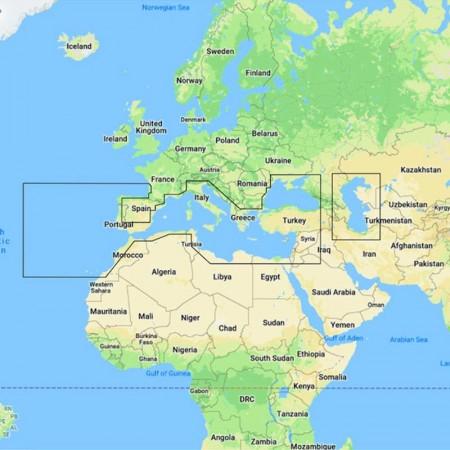 C-Map - MAX+ N+ Continental Y045