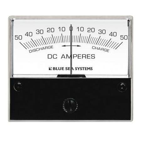Ampèremètre analogique courant continu 0-50A, Shunt externe