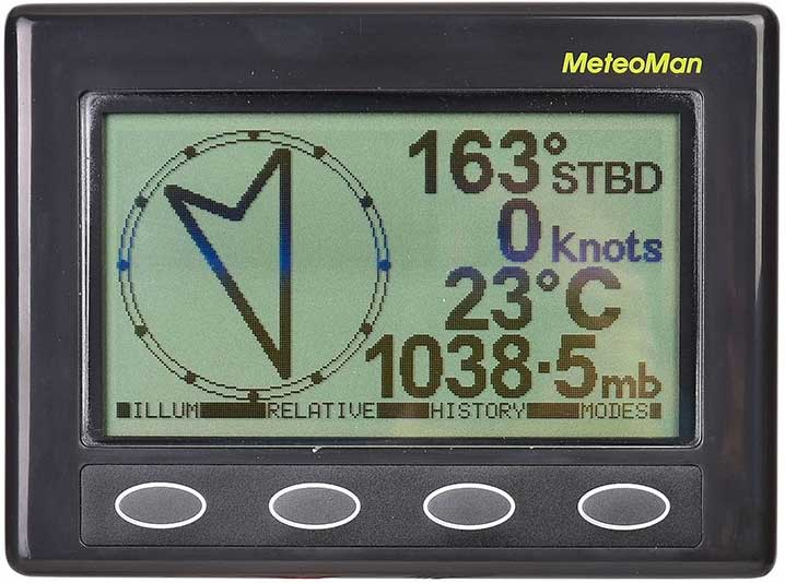 Baromètre électrique Météoman de Nasa